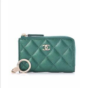 Chanel Caviar Key Holder